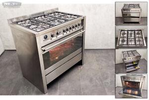 Smeg Opera A1-6 90cm Dual Fuel FSD Gas Hob & Electric Oven RANGE COOKER (1A09)