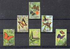 Malasia Fauna Mariposas Valores del año 1970 (DJ-898)