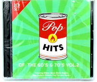 Pop Hits of the 60s and 70s Volume 2 Disc BRAND NEW SEALED MUSIC ALBUM CD
