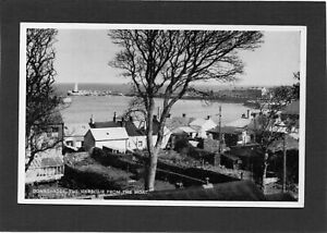 DONAGHADEE - The Harbour from The Moat, Down, N.Ireland.  RPPC by ETW Dennis.