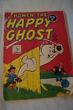 CLASSIC COMIC BOOK - VINTAGE AUSTRALIAN - One Shilling - Homer, The Happy Ghost