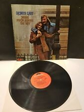 JAMES LAST MUSIC FROM ACROSS THE POND STEREO LP ORIGINAL EXCELLENT CONDITION
