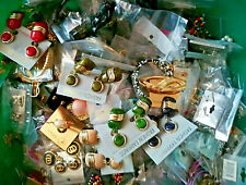 25 Teile Modeschmuck Konvolut Restposten Halsketten Ohrschmuck Armreifen Ringe