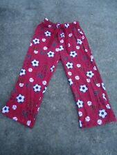 Sonoma Boy's Youth Flannel Sports Pajama Bottoms Elastic & Draw String Waist Siz