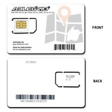 GSM SIM Cards for GPS Tracker and LoT SMS 2G 3G 4G LTE ( Use T-Mobile Network )
