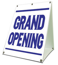 """Grand Opening Sidewalk A Frame 18""""x24"""" Outdoor Store Retail Sign"""