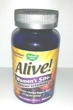 NEW Nature's Way Alive! Women's 50+ Gummy Vitamins 60 Gummies SEALED 10/2021