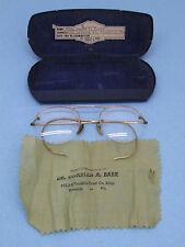 Vintage  Gold filled Wire Eyeglasses  Selling for FRAMES ONLY