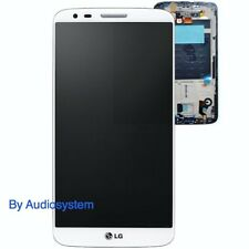 DISPLAY + TOUCH SCREEN per LG OPTIMUS G2 D802 +FRAME COVER VETRINO BIANCO