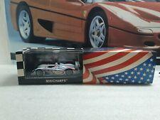 MINICHAMPS / ROAD ATLANTA 2001 / - AUDI R8 - 1/43 SCALE MODEL CAR  - 400 010938