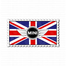 England UK Mini Cooper Emblem Flag Car Bumper Sticker