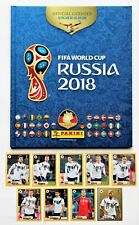 Panini World Cup 2018 Russia - Deluxe Hardcover album + set 9 stickers McDonalds