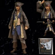 SHF Pirates of Caribbean Captain Jack Sparrow PVC Action Figure New In Box