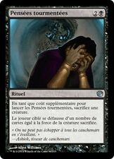 MTG Magic JOU FOIL - Tormented Thoughts/Pensées tourmentées, French/VF