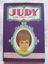 JUDY FOR GIRLS 1974 ANNUAL - ORIGINAL VINTAGE