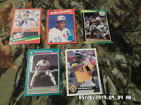 Mixed Lot of 20 Baseball Sports Cards (LOT #20) 1988-1993