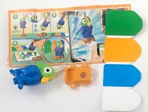 Kinder Egg Toy ++ Painting Blue Parrot ++
