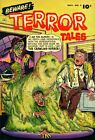 Beware Terror Tales 04 Comic Book Cover Art Giclee Reproduction on Canvas