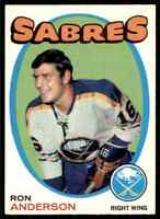 1971-72 O-Pee-Chee Ron Anderson #163
