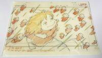 Studio Ghibli Layout Exhibition , Ponyo Clear File cel A4 Japan Unused items
