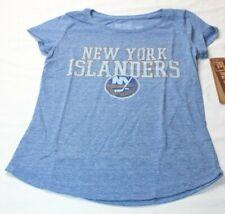 New York Islanders Original Retro Brand Youth Girls Tri-Blend T-Shirt Girls Size