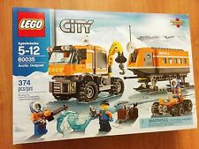 Retired Lego City 60035 Arctic Outpost  -- NISB