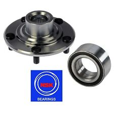 FRONT Wheel Hub & (OEM) NSK Bearing For 2009-2014 ACURA TSX