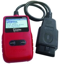 MPE OBDII Escáner de diagnóstico del motor de coche lector de código de error de fallas con pantalla LCD