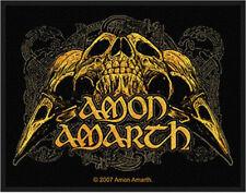 Amon Amarth - Raven Skull Patch 10cm x 7.5cm