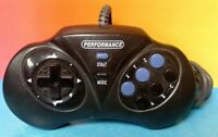Sega Genesis 6 Button Performance Controller Pad Tested + Works Great !