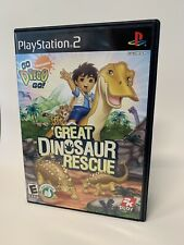 Go Diego Go Great Dinosaur Rescue Sony PlayStation 2 PS2 Complete