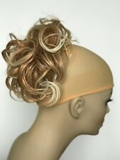 """Synthetic Elastic Hair piece Updo Scrunchies Bun Extensions Ponytail Wavy 7"""""""