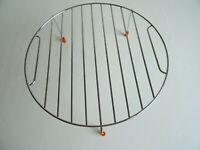 Grillrost Edelstahl für Mikrowelle mit 26cm Durchmesser und Höhe 10 cm NEU