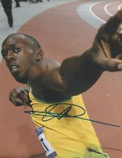 Usain Bolt Signed 10x8 Photo AFTAL OnlineCOA