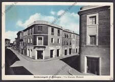 RIMINI SANTARCANGELO DI ROMAGNA 18 TABACCHI - VINO Cartolina  viaggiata 1952