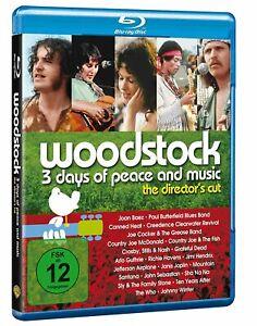 Woodstock - Director's Cut [Blu-ray/NEU/OVP] Oscar-prämierte Dokumentation, die