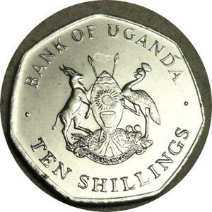 elf Uganda 10 Shillings 1987