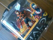 "Halo Reach Series 3 ""Rust Orange JFO"" Action Figure (Xbox 360/One/X) new MINT"
