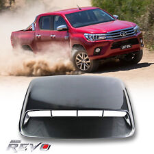 KEVLAR BONNET SCOOP HOOD COVER FOR TOYOTA HILUX REVO TURBO 4WD 4x4 2015-2017