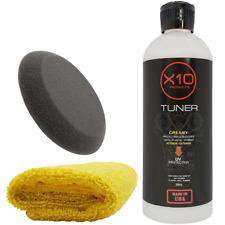Black Plastic And Vinyl Restorer For Car Trim Interior Exterior Parts Shine