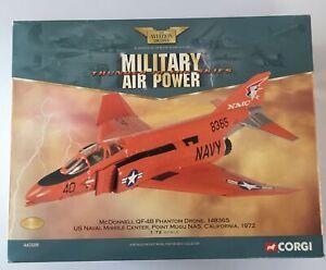 CORGI AVIATION LIMITED EDITION 1:72 MCDONNELL QF-4B PHANTOM DRONE 1972 - AA33208