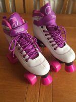 Roller Quads Boots Skates UK 3 EUR 35.5 Derby Disco Retro SFR Vision