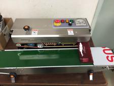 Special Version Left To Right Fr 900 Horizontal Band Sealeramp Embosser 110v