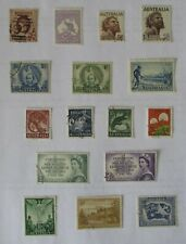Australia and territories. Selection of fine used, nicely postmarked.