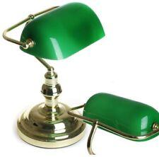 Lampe Banker Bankers Bankerlampe Tischlampe Leselampe Tischleuchte Leuchte NEU