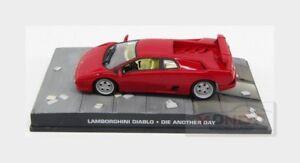 Lamborghini Diablo 1992 007 James Bond Die Another Day EDICOLA 1:43 BONDCOL039