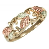 10K Black Hills Gold Ladies Ring Size 4 -11