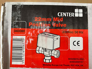 CENTER - 22mm Mid Position Valve - 340080