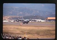 1965 ektachrome Photo slide  military airplane Marines C-130 Hercules #1