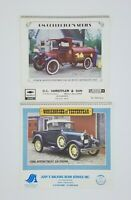 2 Lot Vintage GM Collector's Series Workhorses of Yesteryear Calendars 1987 1988